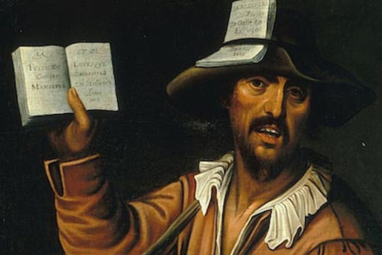 Venditore di almanacchi