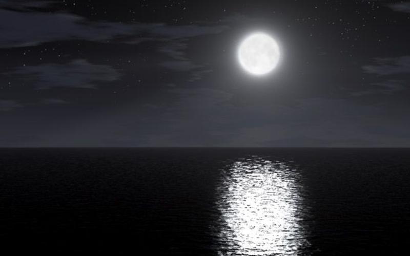 Immagine della luna